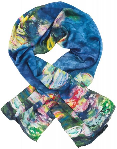 "Claude Monet: Seidenschal ""Seerosen"""