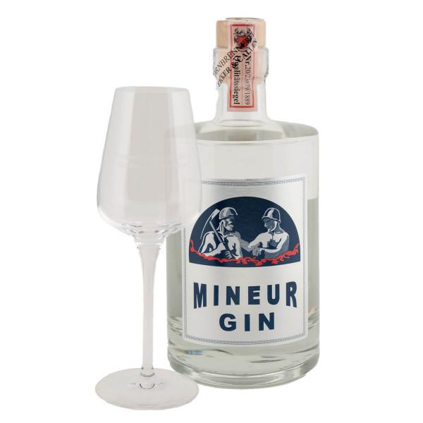 Mineur Gin 0,5l + Tasting-Glas