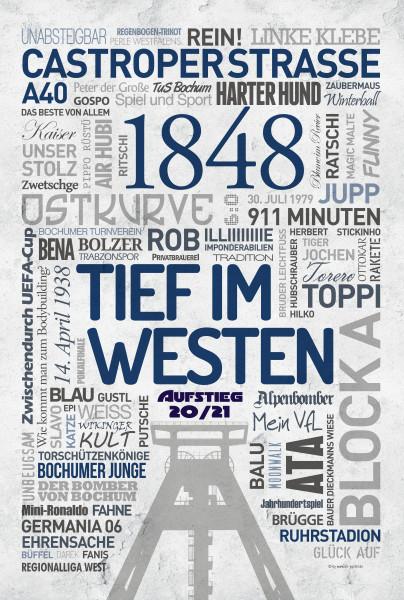 VfL Bochum 1848 - Wandbild