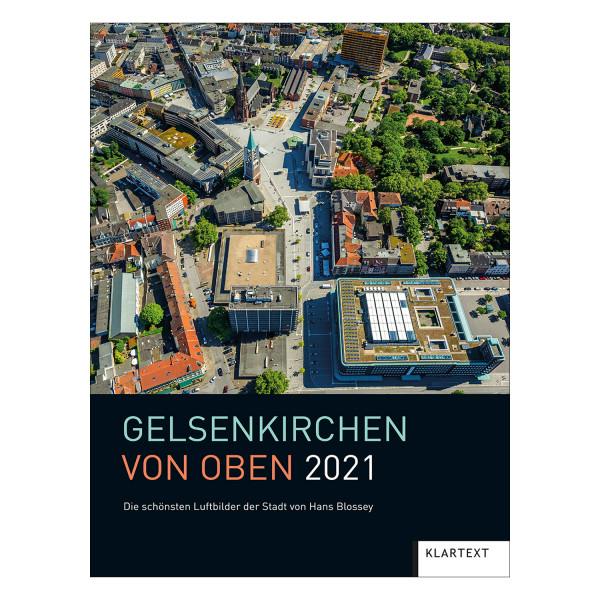 Gelsenkirchen von oben 2021
