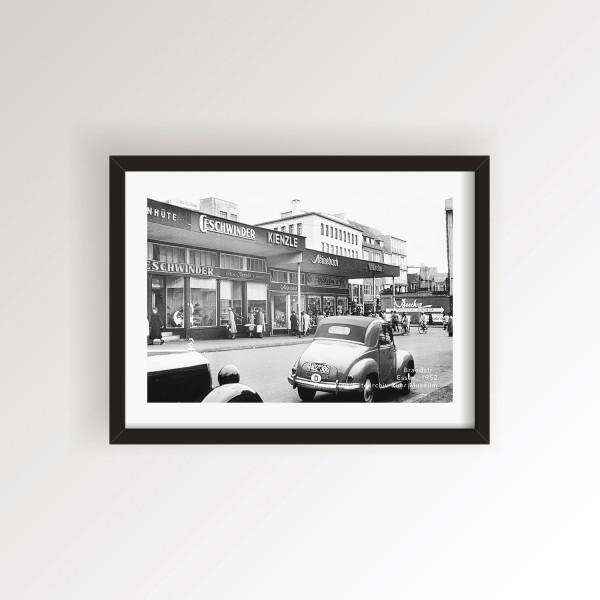 Brandstraße in Essen - 1952